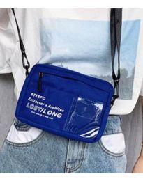 Дамска чанта в синьо - код B28-822