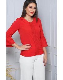 Дамска блуза в червено - код 0629