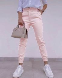 Дамски панталон в светлорозово - код 4464