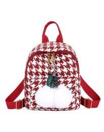 Дамска чанта в червено - код B69