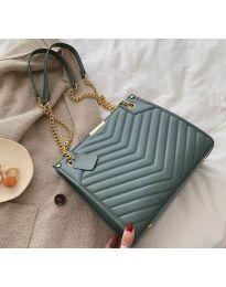 Дамска чанта в цвят тюркоаз - код В19