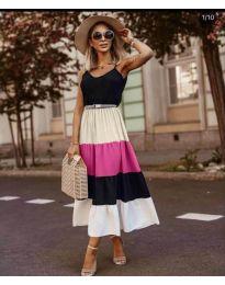 Дълга феерична рокля в черно - код 697 - 5