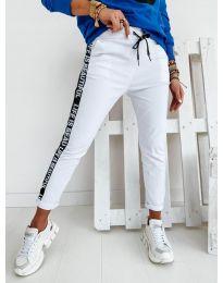 Дамски панталон в бяло - код 3062