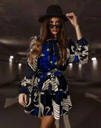 Атрактивна дамска рокля - код 3974 - 2