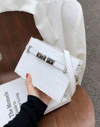 Дамска чанта в бяло - код B438