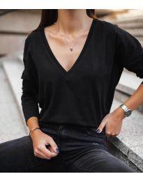 Дамска блуза в черно - код 3330