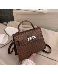 Дамска чанта в цвят кафяво - код B153