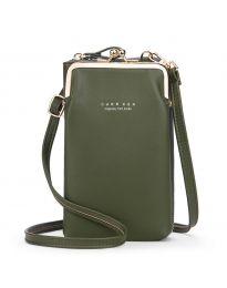 Дамска чанта в зелено - код B148