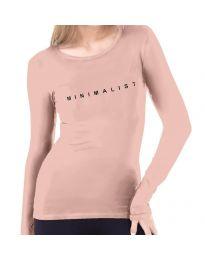 Дамска блуза в розово - код 3337