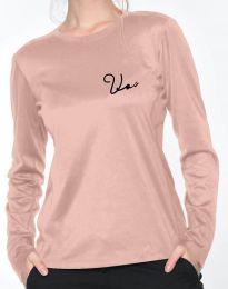 Дамска блуза в розово - код 6516