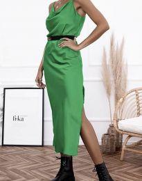 Дамска рокля в зелено - код 6231