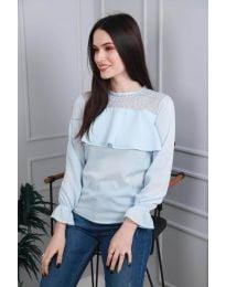 Дамска блуза в светло синьо - код 0628