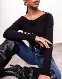 Дамска блуза в черно - код 11565
