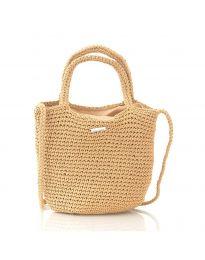 Дамска чанта в капучино - код CF226-17
