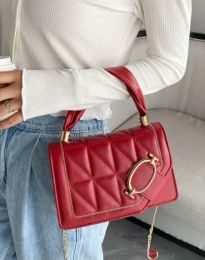 Дамска чанта в червено - код B445