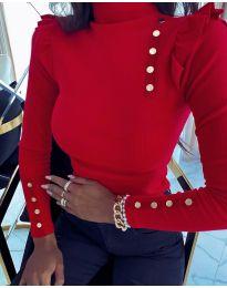 Дамска блуза в червено - код 11483