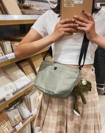 Дамска чанта в масленозелено - код B343