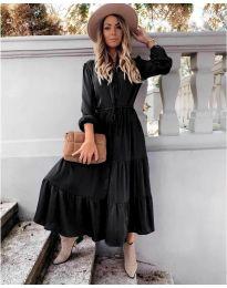 Дълга рокля в черно - код 5150