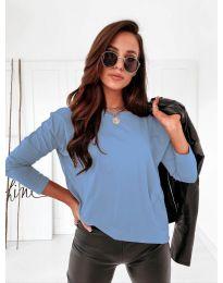 Дамска блуза в светлосиньо - код 5582