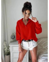 Елегантна риза в червено - 9898