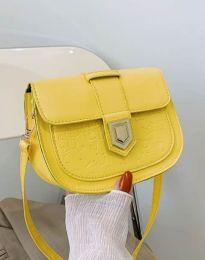 Дамска чанта в жълто - код B444