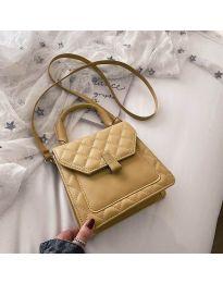 Дамска чанта в цвят горчица - код B48