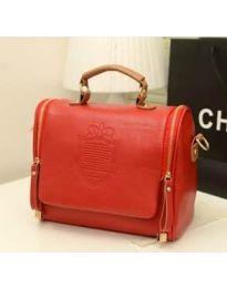 Дамска чанта в червено - код B136