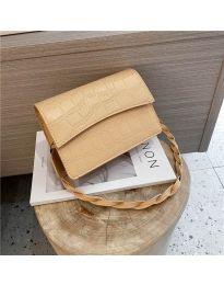 Дамска чанта в бежово - код B36/7787