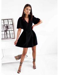 Дамска рокля в черно - код 0807