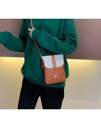 Дамска чанта в кафяво - код B72