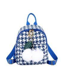 Дамска чанта в синьо - код B69