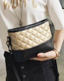Атрактивна дамска чанта в златисто - код B305