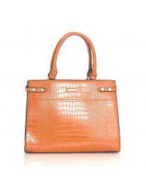 Дамска чанта в кафяво - код HS - 8104
