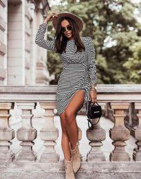 Атрактивна дамска рокля с връзки - код 44590 - 1