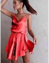 Феерична рокля в червено - код 660