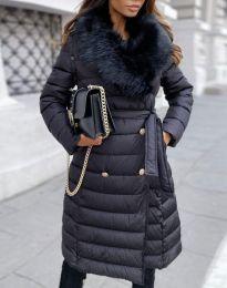 Ефектно дамско яке в черно - код 2549