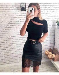 Блуза - код 887 - черно