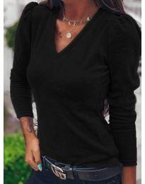 Дамска блуза в черно  - код 0755