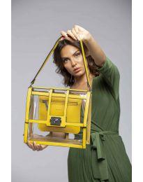 Дамска чанта в жълто - код LS543