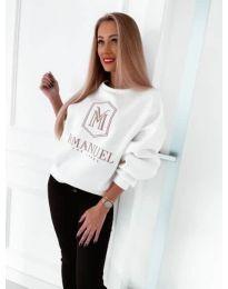 Дамска блуза в бяло - код 4234