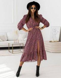 Дамска рокля  с цепка - код 0836 - 3