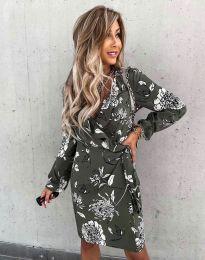 Елегантна дамска рокля - код 2937 - 5