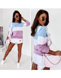 Дамска блуза в лилаво - код 766