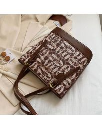 Дамска чанта в кафяво - код  B32/5049