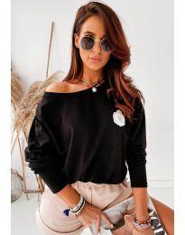 Дамска блуза в черно - код 4026