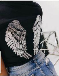 Тениска - код 547 - черно