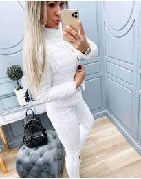 Дамско олекотено бяло яке  - код 579