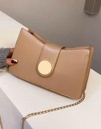 Дамска чанта в цвят капучино - код B416