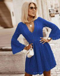 Елегантна рокля в синьо - код 6239