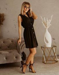 Елегантна рокля в черно - код 2702